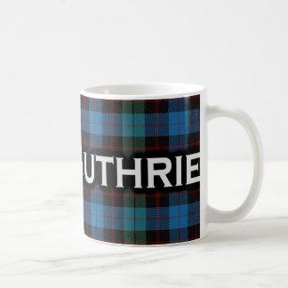 Clan Guthrie Tartan Scottish Coffee Mug