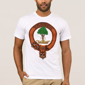 Clan Hamilton Family Crest and Targe T-Shirt