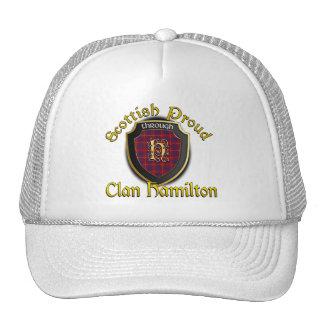 Clan Hamilton Scottish Dynasty Cap Trucker Hat