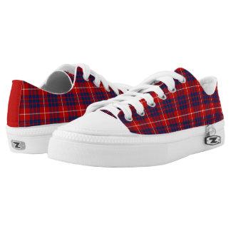 Clan Hamilton Tartan Canvas Printed Shoes