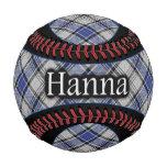 Clan Hannay Hanna Scottish Tartan Baseball