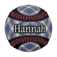 Clan Hannay Hannah Scottish Tartan Baseball