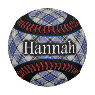 Clan Hannay Hannah Scottish Tartan Baseball