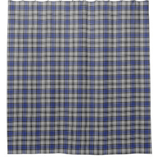 Clan Hannay Scottish Heritage Tartan Shower Curtain