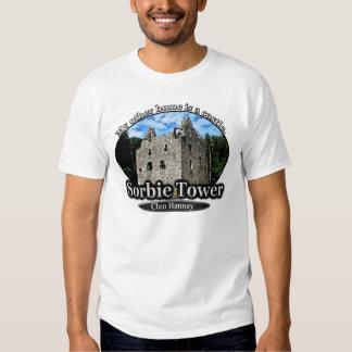 Clan Hannay Sorbie Tower Scottish Castle Home Tshirts
