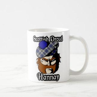 Clan Hannay Tartan Scottish Coffee Mug
