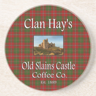 Clan Hay's Old Slains Castle Coffee Co. Coaster