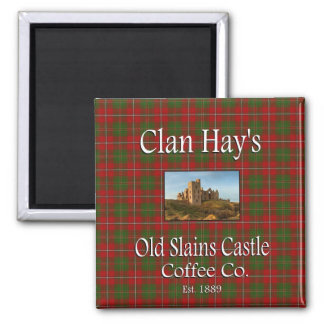 Clan Hay's Old Slains Castle Coffee Co. Magnet