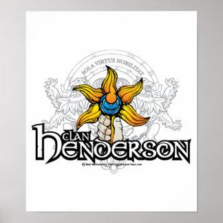 Clan Henderson Poster