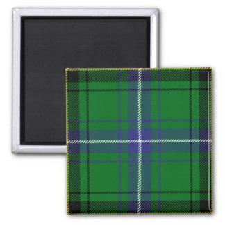Clan Henderson Tartan 2 Inch Square Magnet