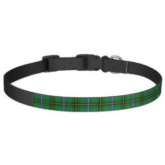 Clan Henderson Tartan Pet Collar