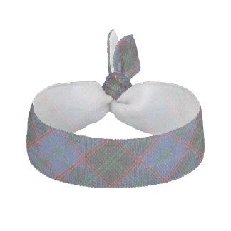 Clan Home Scottish Accents Green Blue Black Tartan Elastic Hair Tie