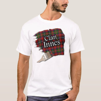 Clan Innes Scottish Tartan Paint Shirt