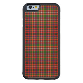Clan Innes Tartan Carved Maple iPhone 6 Bumper Case