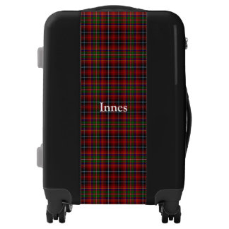 Clan Innes Tartan Customize Your Name Luggage