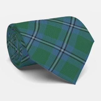Clan Irvine Irwin Letter I Monogram Tartan Neck Tie