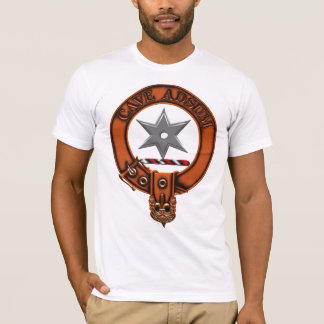Clan Jardine Family Crest and Targe T-Shirt