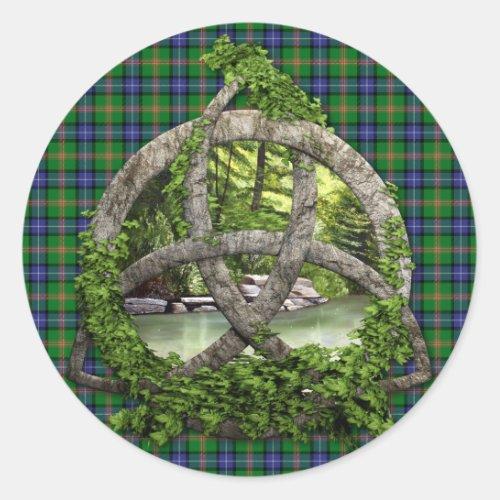 Clan Jones Tartan Celtic Trinity