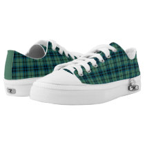 Clan Keith Ancient Tartan Canvas Low-Top Sneakers