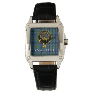 Clan Keith Crest & Ancient Tartan watch