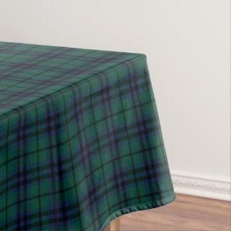 Clan Keith Dark Green Modern Scottish Tartan Tablecloth
