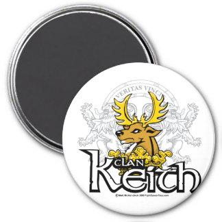 Clan Keith Imán Redondo 7 Cm