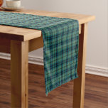 Clan Keith Light Green Ancient Scottish Tartan Short Table Runner