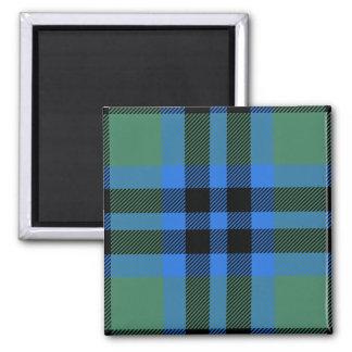 Clan Keith Tartan 2 Inch Square Magnet
