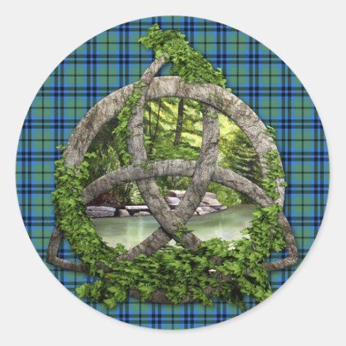 Clan Keith Tartan Celtic Trinity