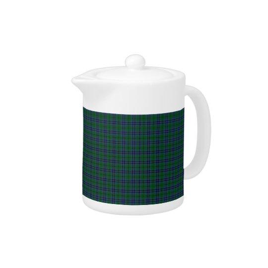 Clan Keith Tartan Teapot