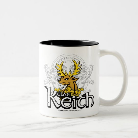Clan Keith Two-Tone Coffee Mug