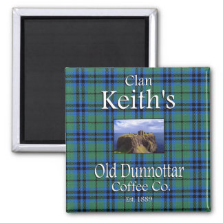 Clan Keith's Old Dunnottar Coffee Co. Magnet