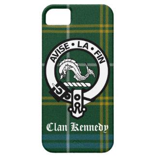 Clan Kennedy Crest Tartan iPhone 5 Case
