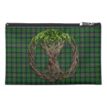 Clan Kennedy Tartan And Celtic Tree Of Life Travel Accessories Bags