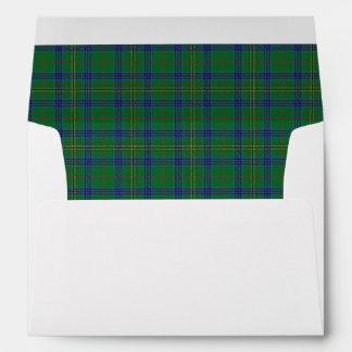Clan Kennedy Tartan Scottish Dreams Envelopes