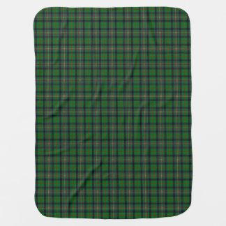 Clan Kennedy Tartan Swaddle Blanket