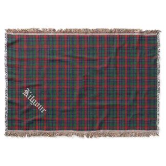 Clan Kilgour Tartan Plaid Custom Throw Blanket