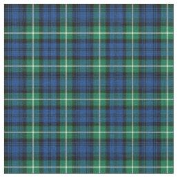 Clan Lamont Tartan Fabric