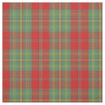 Clan Leask Scottish Tartan Plaid Fabric