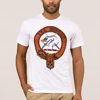 Clan Lennox Family Crest and Targe T-Shirt