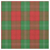 Clan Lennox Scottish Tartan Plaid Fabric