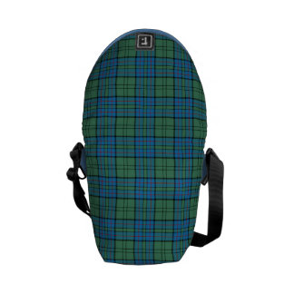 Clan Lockhart Tartan Courier Bag