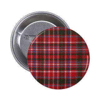 Clan MacAlister Tartan Button