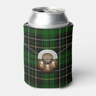 Clan MacAlpine Tartan And Sporran Can Cooler