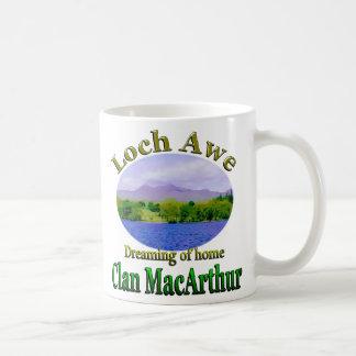Clan MacArthur Dreaming of Home Loch Awe Scotland Coffee Mug