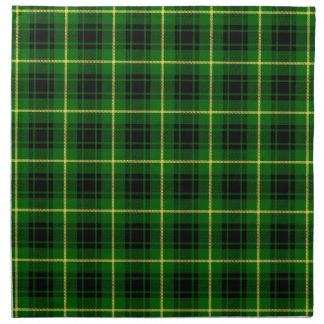 Clan MacArthur Tartan Cloth Napkin