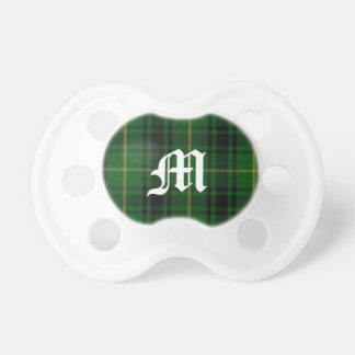 Clan MacArthur Tartan Plaid Monogram Baby Pacifier
