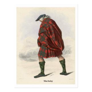Clan MacAulay Postcard