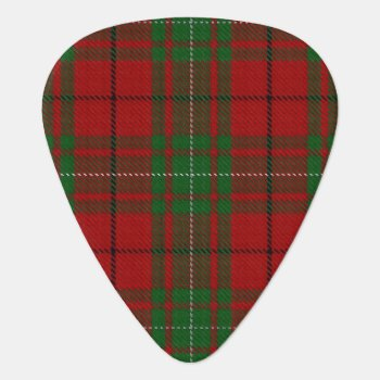 Clan Macaulay Sounds Of Scotland Tartan Guitar Pick by OldScottishMountain at Zazzle