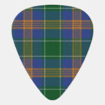 Clan MacAuliffe McAuliffe Sounds of Ireland Tartan Guitar Pick